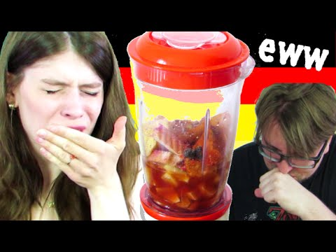 The Most GERMAN SMOOTHIE - Warning! GROSS!!! - 동영상