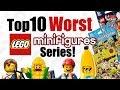 Top 10 Worst LEGO Minifigures Series!