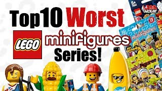 Top 10 Worst LEGO Minifigures Series!