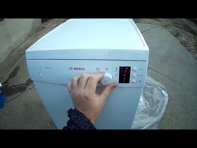 Bosch sps25ci mosogatógép beállítások (Bütykölünk #2)