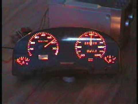 Zegary Z Audi 80 B3 Jako Wskaźniki Vu Youtube