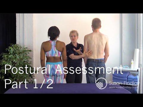 Sports Massage Therapy - Postural Assessment Part 1/2 - Massage Monday
