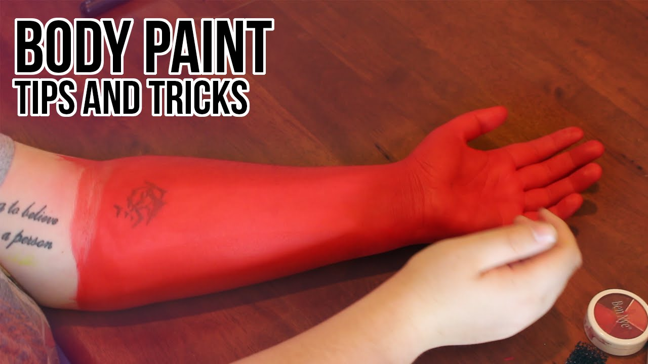 Cosplay Diy Body Paint Tips And Tricks Youtube