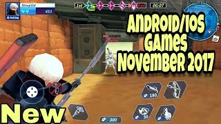 Top 12 New Best Free Android Games 2017 November