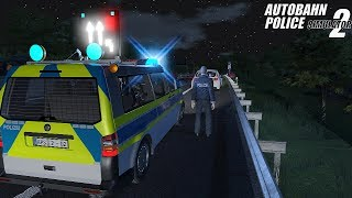 Autobahn Police Simulator 2 - Night Shift (Van)! Gameplay 4K