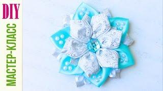 Зимний КАНЗАШИ Цветок / МАСТЕР - КЛАСС / DIY NataliDoma