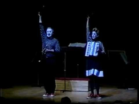 "Magic Circle Mime Company - ""The Mozart Experience "" Japan"