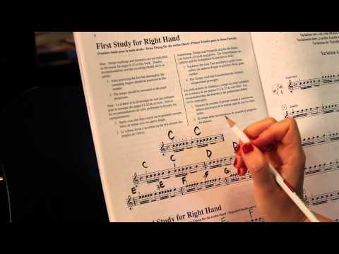 Suzuki Piano Method Lesson #2