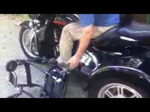 Can Am Trike >> Ultimate Street Machine (Wheelchair Motorcycle) - YouTube