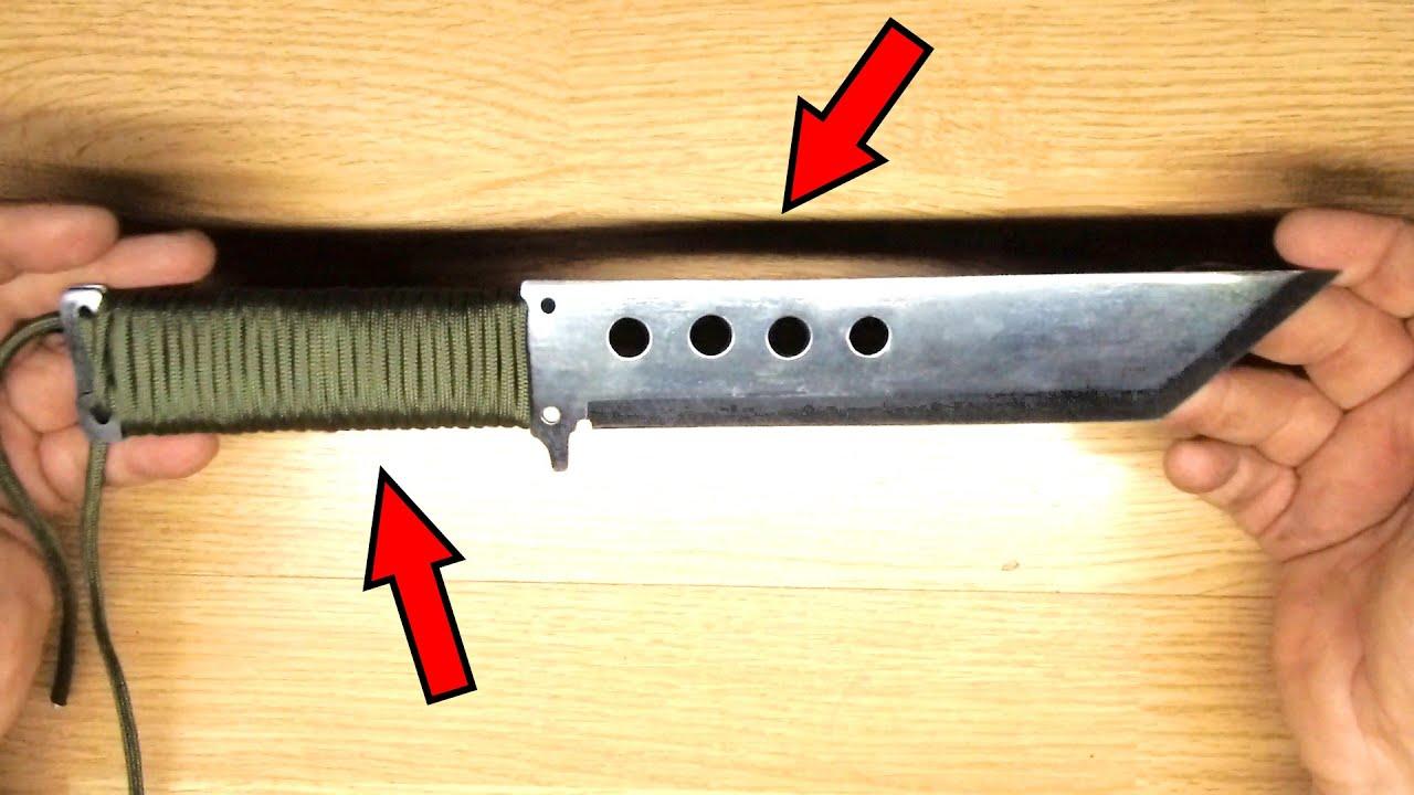 Нож для выживания и нож для бушкрафта. | Survival knife and bushcraft knife.