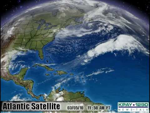 Earth Wobble on Satellite