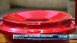 Mayo matching donations