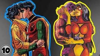Top 10 Superhero Couples You Won't Believe Exist - Part 3
