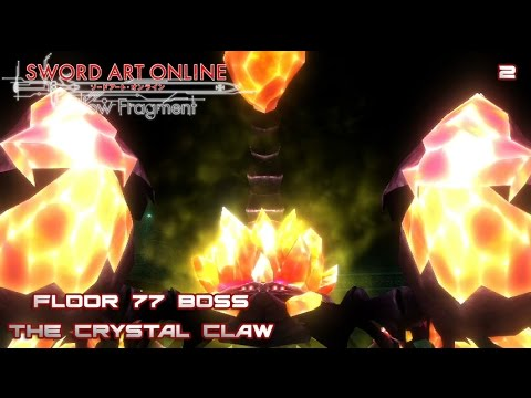 Snipe snipe sao re hollow fragment ep 2 floor 77 for Floor 100 boss sao