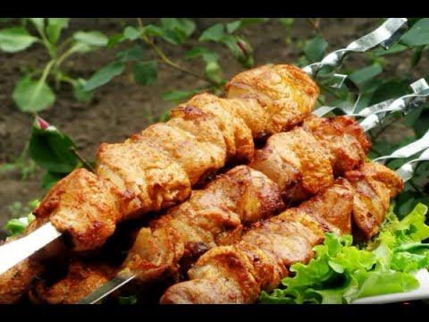 Быстрое маринование шашлыка из свинины