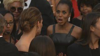 Jennifer Garner and Kerry Washington Look Like BFFs at the Oscars