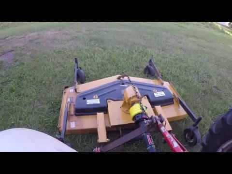 Ford 9N and a King Kutter RFM-60 Finish Mower
