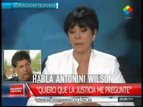 Antonini Wilson en América Noticias
