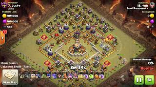DoN't Put Ring Base Or Open Base On Battle War, Clash of clans War, COC 3 star th11