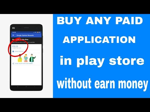 Buy Any Paid Game In Play Store Without Earn Money