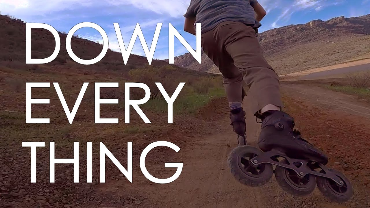 DOWNHILL EVERYWHERE - ON AND OFF ROAD INLINE SKATING // VLOG 127