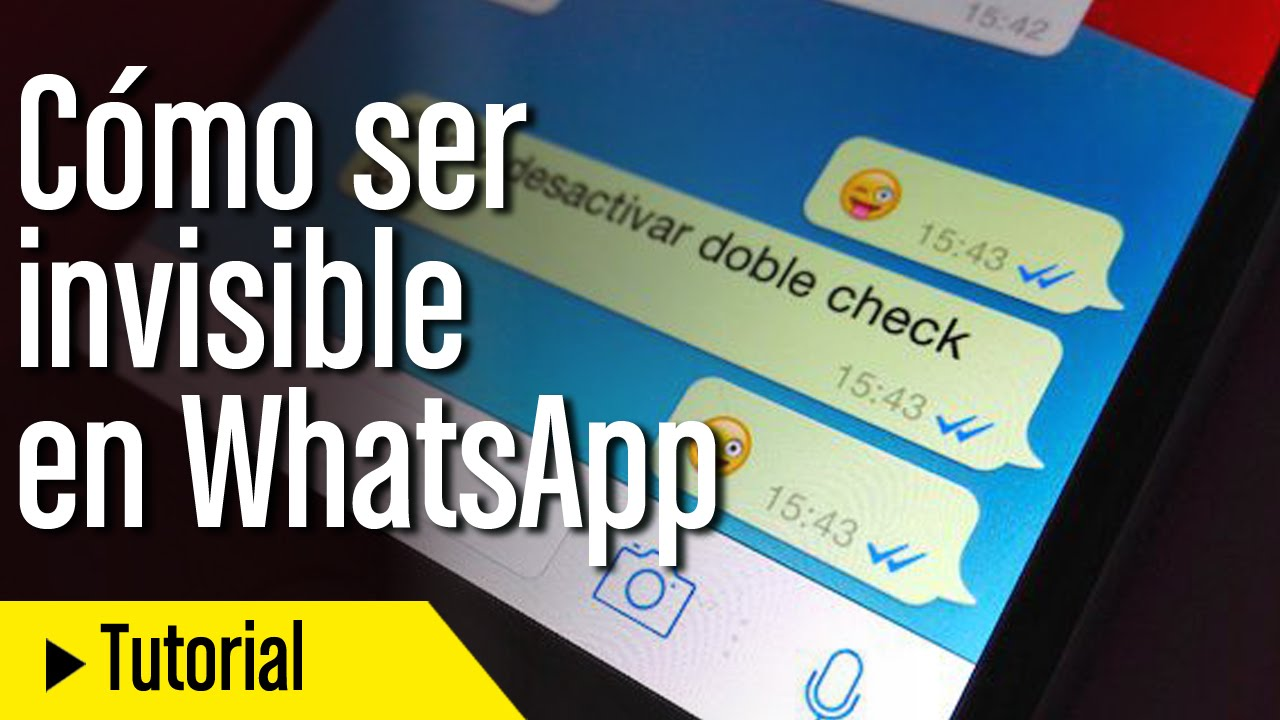 Artículos relacionados con ser invisible en WhatsApp: