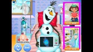 Frozen Olaf Virus Care (Холодное сердце: лечить Олафа) - прохождение игры