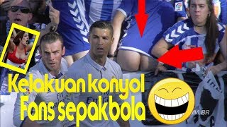 Video moments lucu fans sepakbola