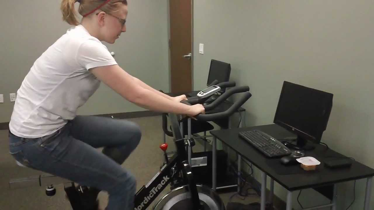 Computer Powered By Exercise Bike
