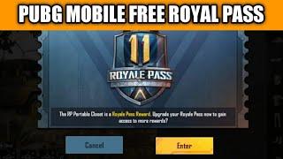 Pubg Mobile Season 11 Secret Trick To Get Free Royal Pass   Free Royal Pass Pubg Mobile Season 11