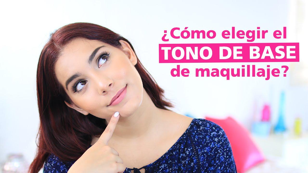 0a3dc6ed5 cómo elegir tu tono de base de maquillaje