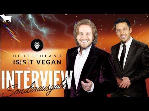 😜 INTERVIEW MIT UNS SELBST 😜 (für Deutschland is(s)t vegan)