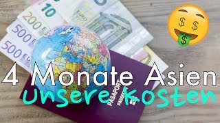 4 Monate Asien - Unsere Kosten | BlaBla#004