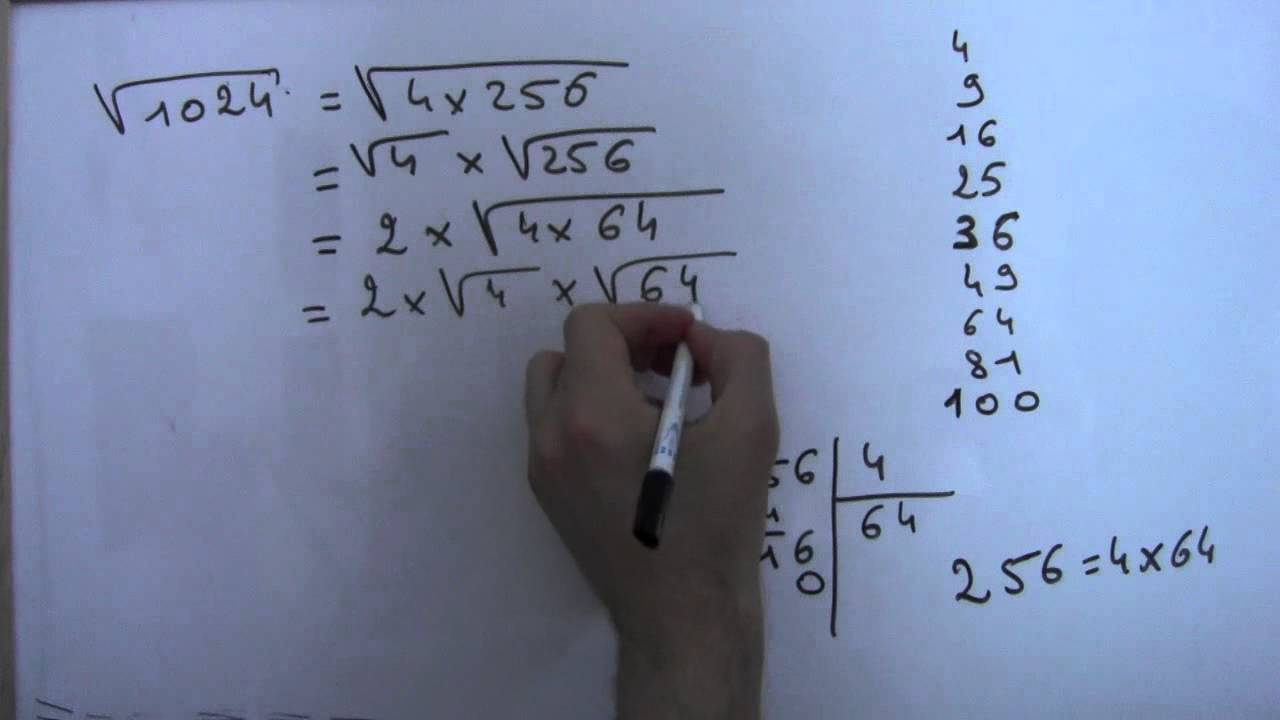 Méthode de simplification de racines carrées - Partie 2 ...