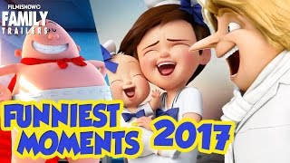 Funniest Moments from Animated Movies 2017