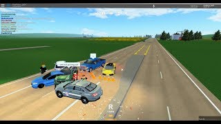 Roblox Greenville: Recording A MASSIVE And Intense Car Crash Situation!!!