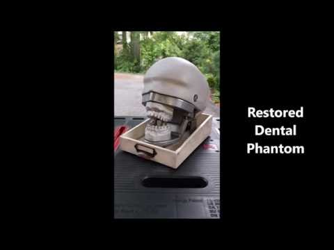 Restored Dental Phantom