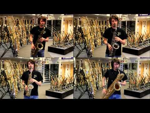 Cee Lo Green  Forget You  Alto, Tenor, Baritone Saxophone