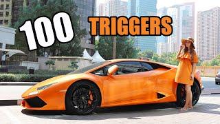 ASMR 100 TRIGGERS in the CITY Dubai 100 ТРИГГЕРОВ за 10 минут в городе ДУБАЙ