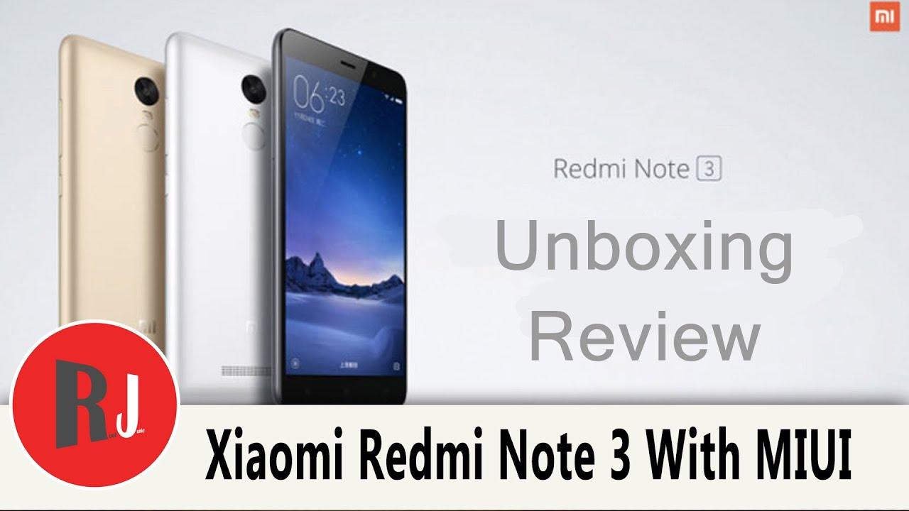 Xiaomi Redmi Note 3   RootJunky com