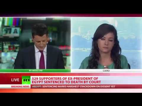 April 28 2014 BREAKING NEWS Egypt sentences 683 to death in mass trial