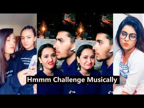 Hmmm Challenge  Tiktok Musically  Aashika Bhatia, Nagma, Anam Darbar, Mr Faisu