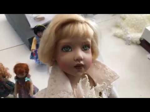 Live in Studio with Doll Artist Helen Kish