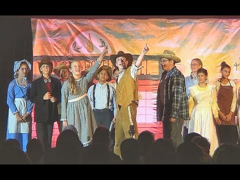 WAGON WHEELS A-ROLLIN' (2017) - Valley Christian Middle School Play