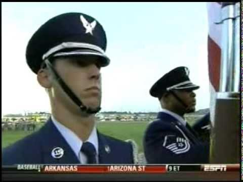 Star Spangled Banner Ben Utecht 06-12-10