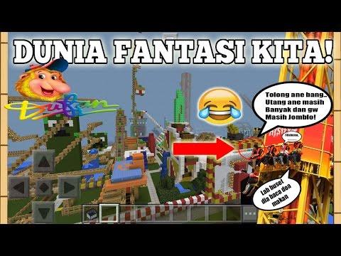 DUFAN DI MCPE? - Minecraft Pocket Edition : Funland III   MapPE #1