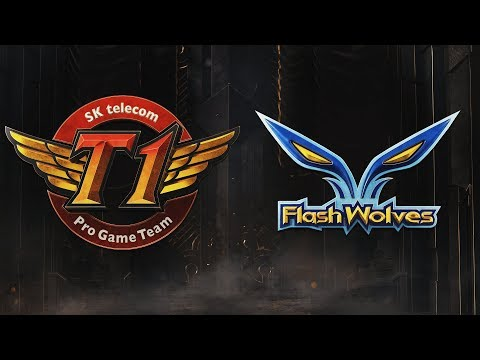 SKT vs FW | Group Stage Day 1 | 2019 Mid-Season Invitational | SK telecom T1 vs. Flash Wolves