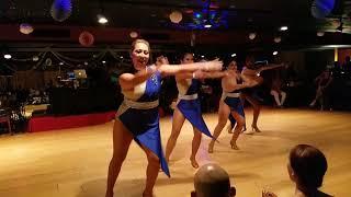 Kay ladies team salsa dancing performance amaya dance social