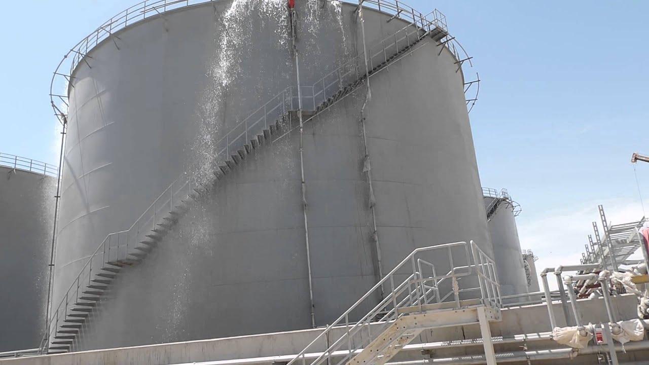 BAIJI Power Plant 6X169 MW  Foam Fire Fighting Test for