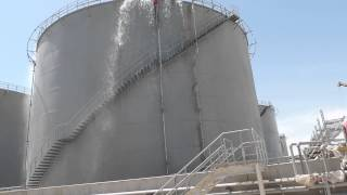 BAIJI Power Plant 6X169 MW : Foam Fire Fighting Test for LFO Tanks (Module 1)